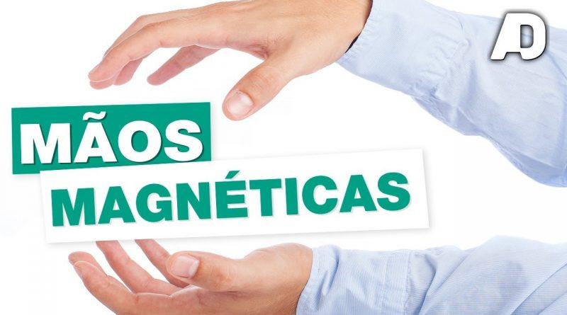 Mãos Coladas Magnéticas